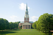 Wake Forest University - Wikipedia