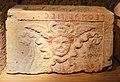 Urnette della collezione bargagli petrucci, 07 testa di gorgone alata.jpg