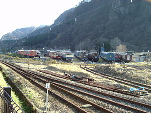 Usui Pass Railway Heritage Park - General view, December 2004