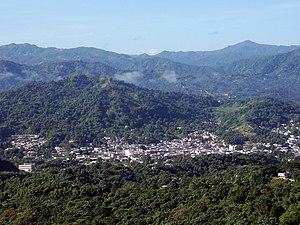 Utuado, Puerto Rico - View of Utuado Pueblo from barrio Sabana Grande