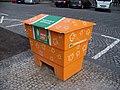 Václavské náměstí, posypový materiál.jpg
