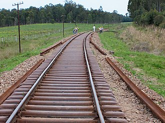Rail transport in Uruguay - Renovation work on the Pintado - Rivera line