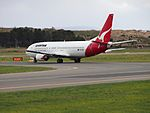 VH-TJG taxiing at Canberra Airport in October 2012.JPG