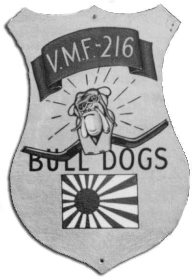 VMF-216 insignia