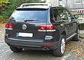 VW Touareg V10 TDI Facelift (seit 2007) rear MJ.JPG