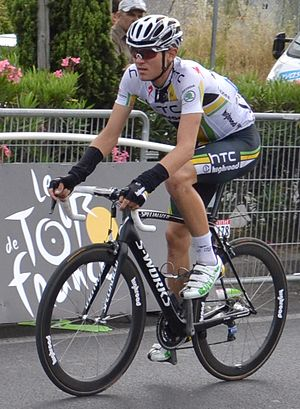 Tejay van Garderen - Van Garderen at the 2011 Tour de France