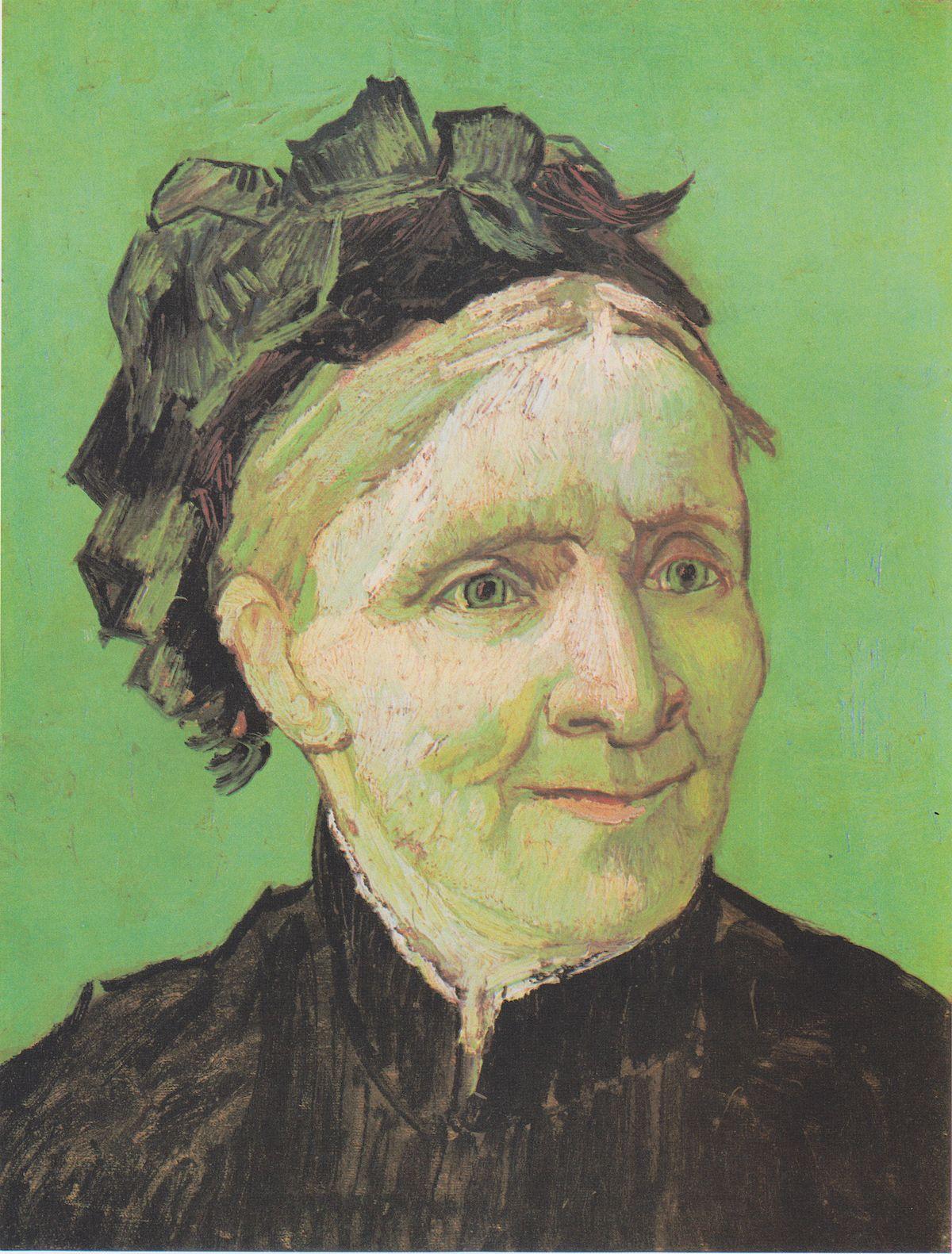 Portrait of the Artist's Mother (Van Gogh) - Wikipedia
