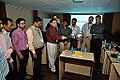 Van de Graaff Generator Experimentation - Indo-Finnish-Thai Exhibit Development Workshop - NCSM - Kolkata 2014-11-27 9734.JPG