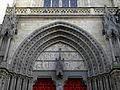 Vannes (56) Cathédrale Saint-Pierre Façade occidentale 02.JPG
