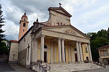 La chiesa parrocchiale di San Giovanni Battista a Varese Ligure