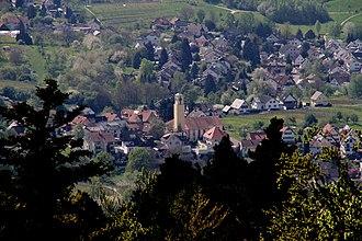Varnhalt - Image: Varnhalt vom Fremersbergturm 05 gje