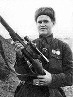 Vassili Grigorievitch Zaïtsev (1942).