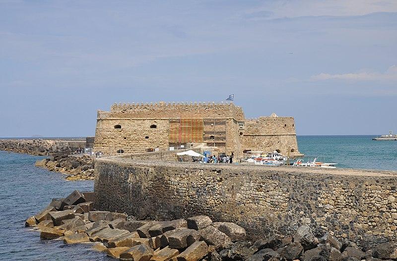 File:Venetian Fortress of Koules in Heraklion, Crete 002.jpg