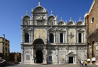 building in Venice, Italy, originally the home to one of the six major Scuole Grandi of Venice
