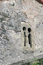Ventana bífora prerrománica del monasterio