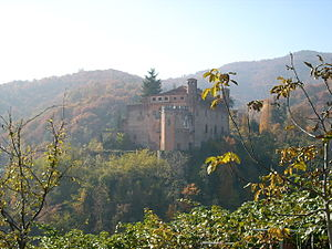 Castle of Verzuolo - View of the Castle of Verzuolo