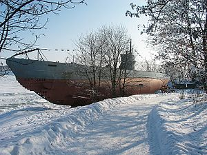 Crichton-Vulcan - ''Vesikko'', the only Type II submarine left, is on display in Suomenlinna, Helsinki.