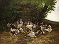 Vié Graugänse am Steinbrunnen 1879.jpg