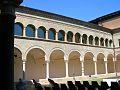 Via Dante Alighieri - Chiostro vista del lato Nord.jpg