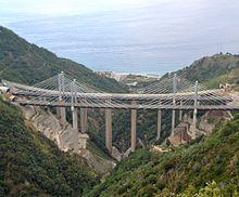 Il viadotto Favazzina