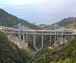Autostrada A3 (Italy) - Favazzina Viaduct