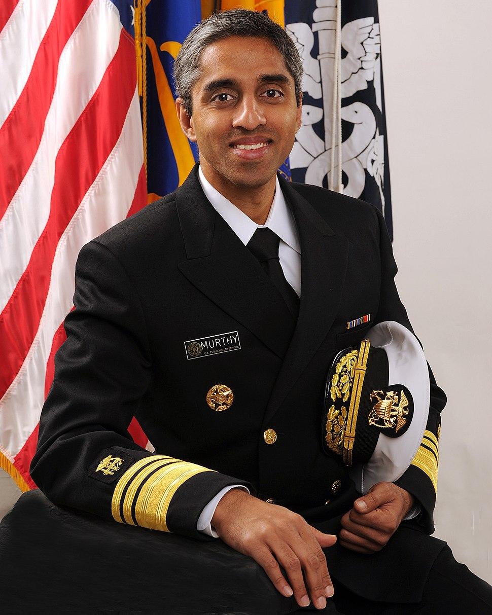 Vice Admiral Vivek H. Murthy, USPHS
