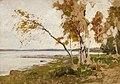 Victor Westerholm - Landscape Study - A II 1124 - Finnish National Gallery.jpg