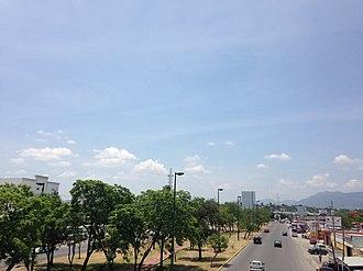 Ciudad Victoria - Avenue in Ciudad Victoria