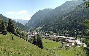 Viehhofen talauswärts