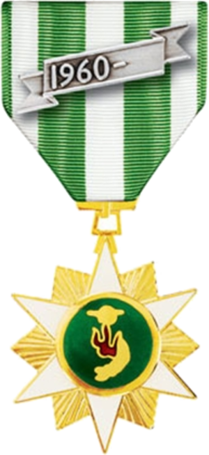 Vietnam Campaign Medal - Republic of Vietnam Campaign Medal with    1960–  Device