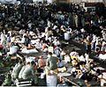 Vietnamese refugees in hangar of USS Hancock (CVA-19) 1975.jpg