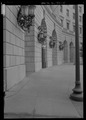 View along arcade - New Post Office Building, Twelfth Street and Pennsylvania Avenue, Washington, District of Columbia, DC HABS DC-814-15.tif