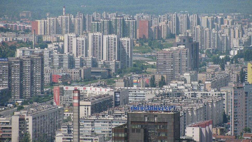 View on Novi Grad, Sarajevo