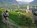 View on the Batiaz old tower - panoramio.jpg