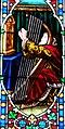 Villeréal - Église Notre-Dame - Vitrail de l'histoire de David - 4.jpg
