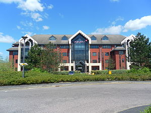 Virgin Atlantic - The Office, the head office building of Virgin Atlantic and Virgin Holidays in Crawley