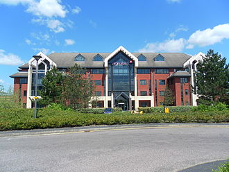 Virgin Atlantic - The Office, the head office building of Virgin Atlantic and Virgin Holidays in Crawley
