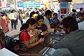 Visitors - Ice Cream Stall - 38th International Kolkata Book Fair - Milan Mela Complex - Kolkata 2014-02-09 8724.JPG