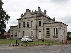 Vivières (Aisne) mairie-école.JPG