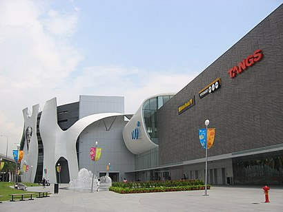 How to get to Vivocity with public transport- About the place