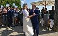 Vladimir Putin at the wedding of Karin Kneissl (2018-08-18) 07.jpg