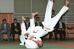 TOKYO. President Putin on a tatami at the Kodo...