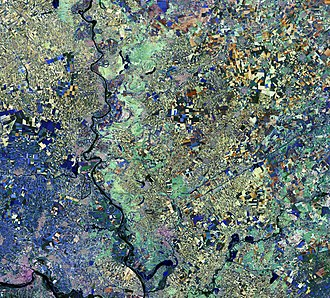Sentinel-2 - Image: Vojvodina, Serbia ESA375680
