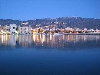 Volos - Volos seaside by night