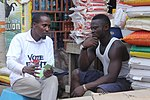 Vote Not Fight Volunteer Talks to Youth (16635353835).jpg