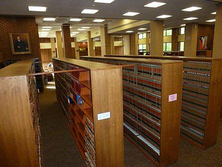 Wilbur C Hall Law Library logo