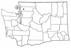 Sedro-Woolley, Washington - Location of Sedro-Woolley, Washington