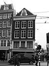 foto van Hoekhuis, voorgevel onder rechte lijst