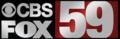 WVNS-TV CBS Fox 59 logo.png
