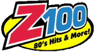 "WEAN-FM - Former logo under the ""Z100"" branding"